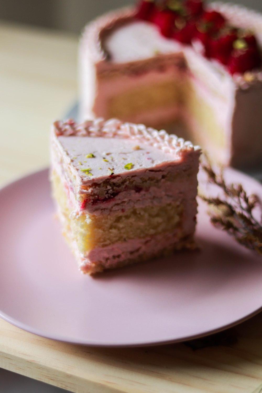 Zuger Kirsch Torte (with raspberry twist) 1