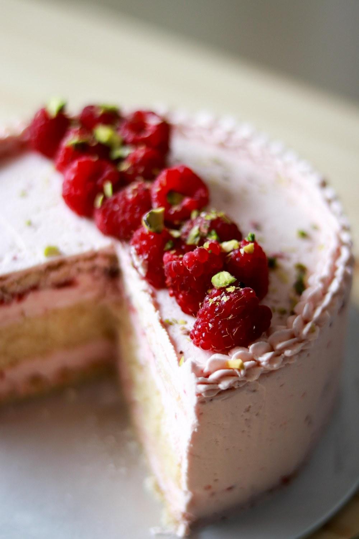 Zuger Kirsch Torte (with raspberry twist) 2