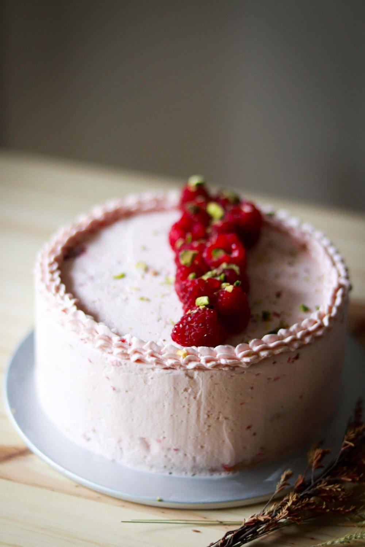 Zuger Kirsch Torte (with raspberry twist) 3